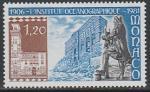 Монако 1981 год. 75 лет Океанографическому институту в Париже, 1 марка