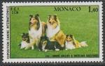 Монако 1981 год. Международная выставка собак в Монте-Карло, 1 марка