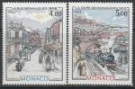 Монако 1984 год. Виды Монте-Карло конца XIX, начала XX века, 2 марки. (н