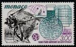Монако 1985 год. 25 лет Научному Центру, 1 марка