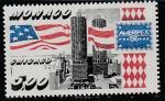 Монако 1986 год. Международная филвыставка AMERIPEX-86 в Чикаго, 1 марка