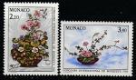 Монако 1987 год. Международный конкурс цветоводов в Монте-Карло, 2 марки