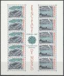 Монако 1987 год. Европа СЕРТ. Современная архитектура, блок