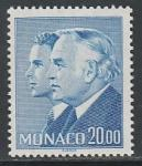 Монако 1988 год. Князь Ренье III и принц Альберт, 1 марка