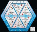 Беларусь 2018 год. XXII Зимние Олимпийские игры в Южной Корее, малый лист. (bY0933
