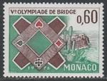 Монако 1976 год. V Олимпиада по игре в бридж в Монте-Карло, 1 марка