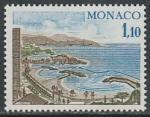 Монако 1977 год. Береговая линия Монте-Карло, 1 марка