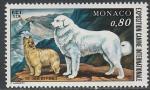Монако 1977 год. Международная выставка собак в Монте-Карло, 1 марка