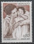Монако 1977 год. Международная ассоциация друзей детей, 1 марка