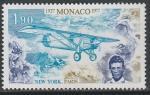 Монако 1977 год. 50 лет Трансатлантическому перелёту Чарльза Линдберга, 1 марка