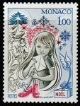 Монако 1978 год. Рождество, 1 марка