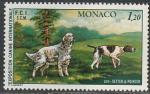 Монако 1979 год. Международная выставка собак в Монте-Карло, 1 марка
