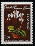 Монако 1979 год. Международная выставка орхидей в Монте-Карло, 1 марка