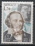 Монако 1979 год. 100 лет со дня смерти Роуленда Хилла, отца почтовой марки, 1 марка