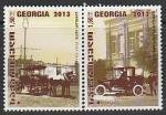 Грузия 2014 год. Европа. Транспорт, 2 марки