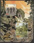 Мали 2007 год. Динозавры, блок