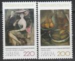 Армения 2004 год. Музей русского искусства, 2 марки