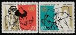 Куба 1968 год. 20 лет ВОЗ, 2 марки