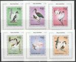 Гвинея-Бисау 2010 год. Морские птицы, 6 люксблоков