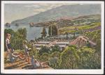 Почтовая маркированная карточка, 1929 год. Крым пионерский лагерь санаторий, худ. Машков