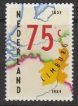 Нидерланды 1989 год. 150 лет провинции Лимбург, 1 марка