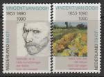 Нидерланды 1990 год. 100 лет со дня смерти художника Винсента Ван Гога, 2 марки