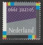 Нидерланды 1990 год. Декабрьская марка, 1 марка