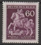 Рейх (Богемия и Моравия) 1943 год. Почтальон, 1 марка