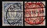 Германия (Рейх) Данциг 1925 год. Государственный герб в овале, 2 марки (гашёные)