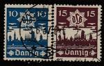 Германия (Рейх) Данциг 1937 год. Противовоздушная оборона, 2 марки (гашёные)