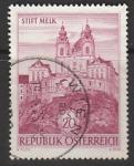 Австрия 1963 год. Аббатство Мельк, 1 марка (гашёная)