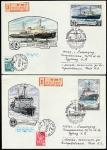 6 КПД. Ледокольный флот СССР, 20.12.1978 год, Москва, почтамт, прошли почту