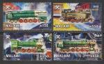 Малави 2012 год. Паровозы и локомотивы, 4 марки