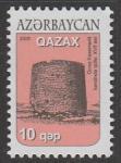 Азербайджан 2008 год. Стандартный выпуск. Архитектура, 1 марка