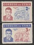 Куба 1962 год. IX Годовщина Революции, 2 марки