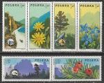 Польша 1975 год. Судетский Национальный парк, 3 пары марок