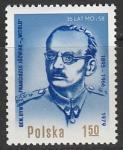 Польша 1979 год. Польский политик, генерал Франциск Юзьвик. 1 марка