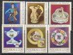 Польша 1982 год. Изделия из фарфора, 6 марок