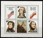 Польша 1975 год. 200 лет независимости США, блок