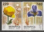 Беларусь 2003 год. Редкие цветы, занесённые в Красную Книгу Беларуси, 2 марки