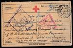 ПК Красного Креста. Корреспонденция военнопленных, 1916 год, прошла почту