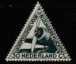 Нидерланды 1933 год. Самолёт. Авиапочта для спецрейсов, 1 марка