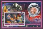 Буркина Фасо 2019 год. Первый космонавт Ю.А. Гагарин, гашёный блок