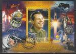 Кот дИвуар 2013 год. Первый космонавт Ю.А. Гагарин, гашёный блок