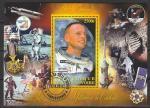 Кот дИвуар 2012 год. Американский астронавт Нил Армстронг, гашёный блок