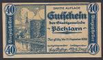 Нотгельд 40 пфеннингов. Германия 1920 год
