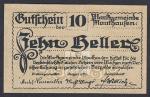 Нотгельд 10 пфеннингов. Германия
