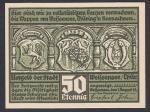 Нотгельд 50 пфеннингов. Германия 1921 год