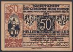 Нотгельд 50 пфеннингов. Германия 1920 год