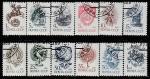 СССР 1989 год. Стандартный выпуск, 12 марок, № 6081-92 (гашёные)